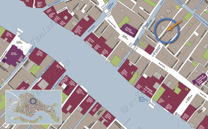 Plan de Situation à Venise de Felice Priuli