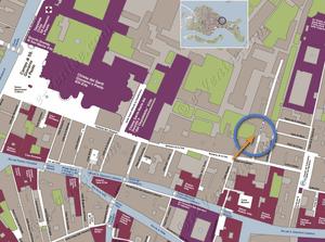 Plan de Situation à Venise de Giovanni Terrasses