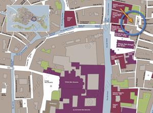 Plan de Situation à Venise de Madona Greci