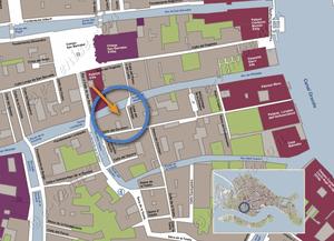 Plan de Situation à Venise de Malpaga Terrasse