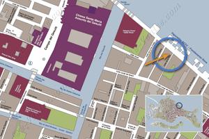 Plan de Situation à Venise de Vida Terrasse