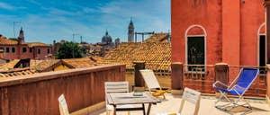 Location Appartement à Venise : Lorenzo Severo Terrasse dans le Castello