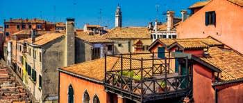 Location Appartement à Venise : Malpaga Terrasse dans le Dorsoduro