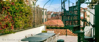 Location Appartement à Venise : Orio Boldo Terrasses à Santa Croce
