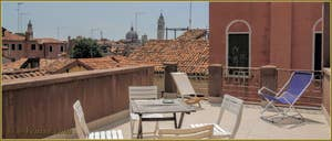 Location Appartement à Venise : San Lorenzo Terrazza dans le Castello