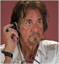 Al Pacino à la Mostra du Cinema de Venise 68e édition internationale du film