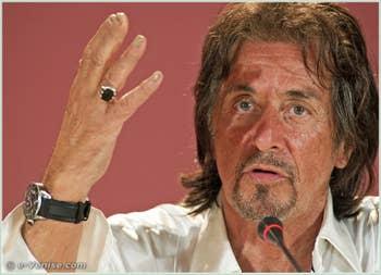 Al Pacino à la Mostra du Cinéma de Venise 68e édition internationale du film