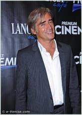 Andrea Pelizzari à la Mostra du Cinéma de Venise 68e édition internationale du film