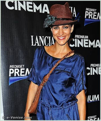 Giulia Bevilacqua à la Mostra du Cinéma de Venise 68e édition internationale du film