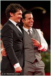 James Franco et Val Lauren à la Mostra du Cinema de Venise 68e édition internationale du film