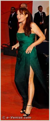 Jennifer Ehle à la Mostra du Cinema de Venise 68e édition internationale du film