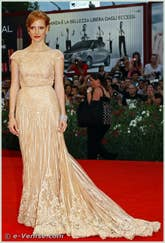 Jessica Chastain à la Mostra du Cinema de Venise 68e édition internationale du film