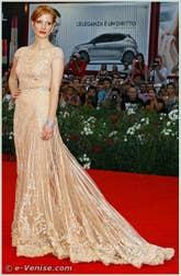 Jessica Chastain à la Mostra du Cinéma de Venise 68e édition internationale du film