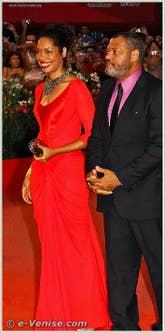 Gina Torres et Laurence Fishburne à la Mostra du Cinema de Venise 68e édition internationale du film
