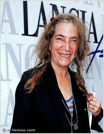 Patti Smith à la 68e Mostra Internationale du Cinéma de Venise