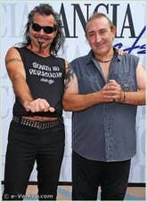 Piero Pelu' et Ghigo Renzulli à la Mostra du Cinéma de Venise 68e édition internationale du film
