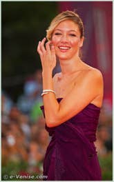 Sarah Felberbaum à la Mostra du Cinema de Venise 68e édition internationale du film