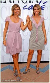Silvia et Laura Squizzato à la Mostra du Cinema de Venise 68e édition internationale du film