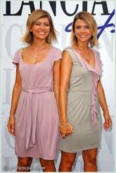 Silvia et Laura Squizzato à la Mostra du Cinéma de Venise 68e édition internationale du film