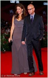 Jules Asner et Steven Soderbergh à la Mostra du Cinéma de Venise 68e édition internationale du film