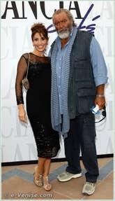 Arianna et Diego Abatantuono à la Mostra du Cinéma de Venise 68e édition internationale du film