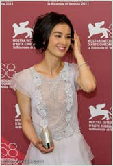 Eva Huang à la Mostra du Cinema de Venise 68e édition internationale du film
