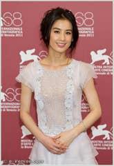 Eva Huang à la Mostra du Cinéma de Venise 68e édition internationale du film
