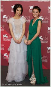 Eva Huang et Charlene Choi à la Mostra du Cinema de Venise 68e édition internationale du film