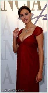 Isabelle Adriani Oscar Isaac Abbie Cornish Andrea Riseborough James d'Arcy à la Mostra du Cinema de Venise 68e édition internationale du film