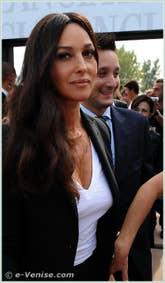 Monica Bellucci à la Mostra du Cinéma de Venise 68e édition internationale du film