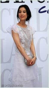 Shengyi Huang à la Mostra du Cinéma de Venise 68e édition internationale du film
