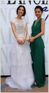 Shengyi Hhuang et Charlene Choi à la Mostra du Cinema de Venise 68e édition internationale du film