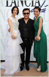 Shengyi Hhuang, Siu Tung-ching et Charlene Choi à la Mostra du Cinéma de Venise 68e édition internationale du film