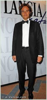 Emanuele Farneti à la Mostra du Cinema de Venise 68e édition internationale du film