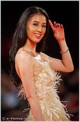 Eva Huang à la 68e Mostra Internationale du Cinema de Venise