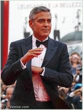 George Clooney à la Mostra du Cinema de Venise 68e édition internationale du film