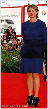 Ginevra Elkann à la Mostra du Cinema de Venise 68e édition internationale du film