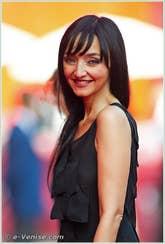 Maria de Medeiros à la Mostra du Cinema de Venise 68e édition internationale du film