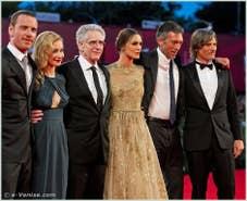 Michael Fassbender, Sarah Gadon, David Cronenberg, Keira Knightley, Vincent Cassel, Viggo Mortensen à la Mostra du Cinema de Venise 68e édition internationale du film