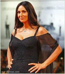 Monica Bellucci à la Mostra du Cinema de Venise 68e édition internationale du film