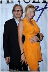 Vittorio Sgarbi à la Mostra du Cinema de Venise 68e édition internationale du film