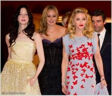 Andrea Riseborough Abbie Cornish Madonna et Oscar Isaac à la Mostra du Cinema de Venise édition internationale du film