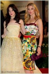 Andrea Riseborough et Natalie Dormer à la Mostra du Cinema de Venise édition internationale du film