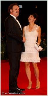 John C. Reilly et Alison Dickey à la Mostra du Cinema de Venise édition internationale du film