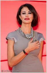 Maria Grazia Cucinotta à la Mostra du Cinéma de Venise édition internationale du film