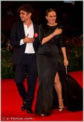 Riccardo Scamarcio et Valeria Golino à la Mostra du Cinéma de Venise 68e édition internationale du film