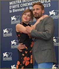 Dakota Johnson, Matthias Schoenaerts à la Mostra de Venise, le Festival du Cinéma de Venise 2015
