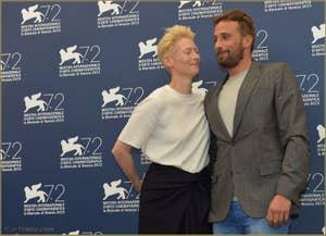 Tilda Swinton, Matthias Schoenaerts à la Mostra de Venise, le Festival du Cinéma de Venise 2015