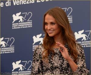 Alicia Vikander à la Mostra de Venise, le Festival du Cinéma de Venise 2015