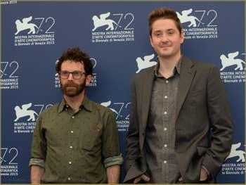 Charlie Kaufman, Duke Johnson à la Mostra de Venise, le Festival du Cinéma de Venise 2015